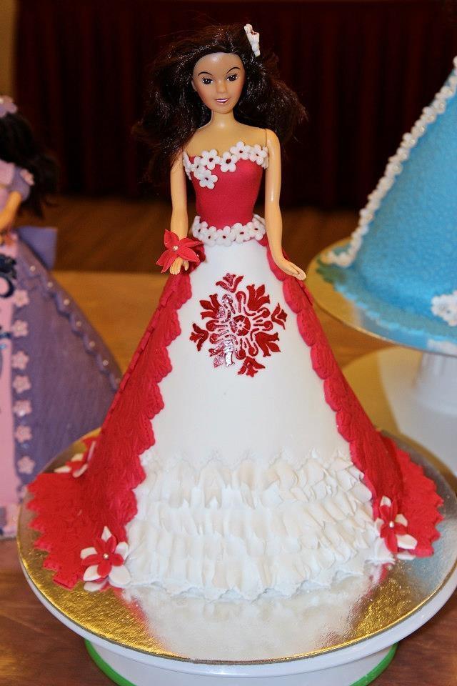 barbie Doll Cake doll cakes Pinterest