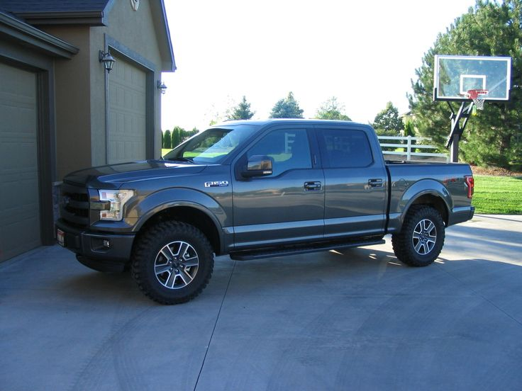 """2017 F250 Lifted >> 5.0, 3.73 - I went with an Auto Spring 2"""". The tires are ..."""