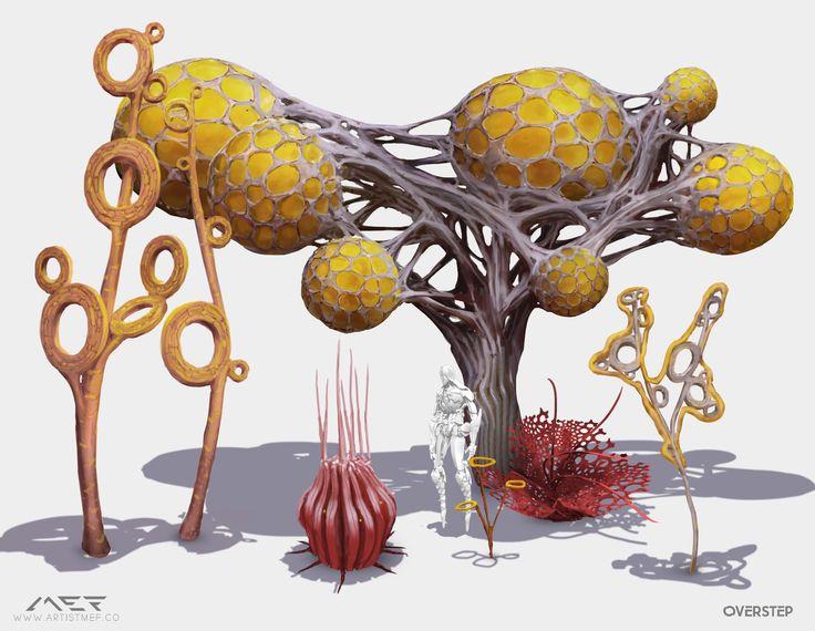 ArtStation - Alien Flora Concept Pack 1, Igor Vitkovskiy