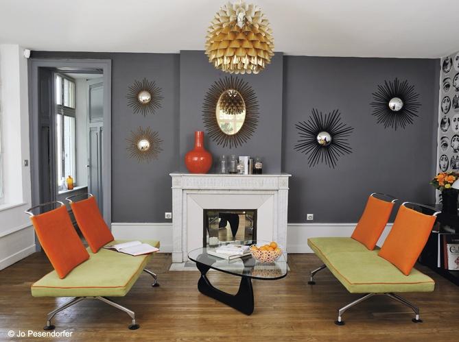 Dark Grey Walls W/white Trim U0026 Fake Fireplace For My Bedroom