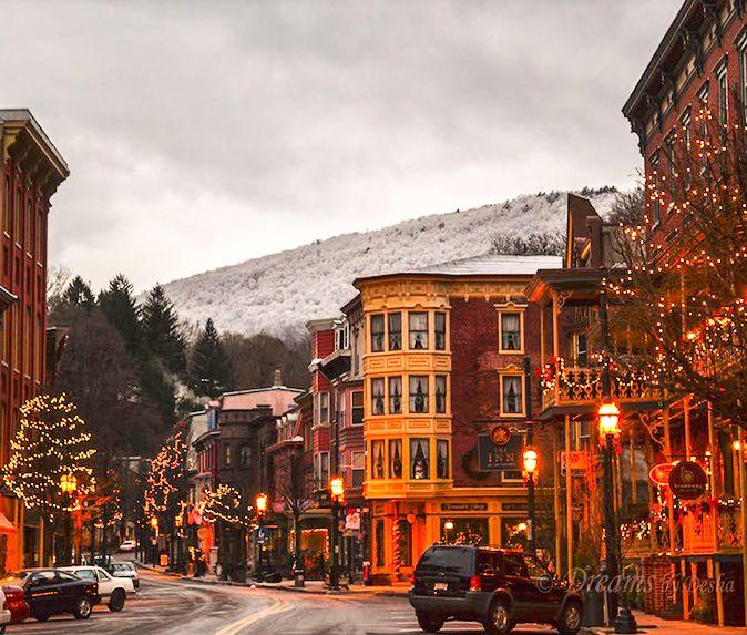 Winter Weekend Getaways, Places