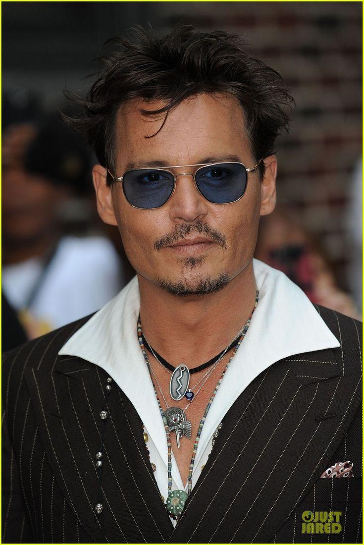 Johnny Depp: 'Lone Ranger' Promotion on 'Letterman'!