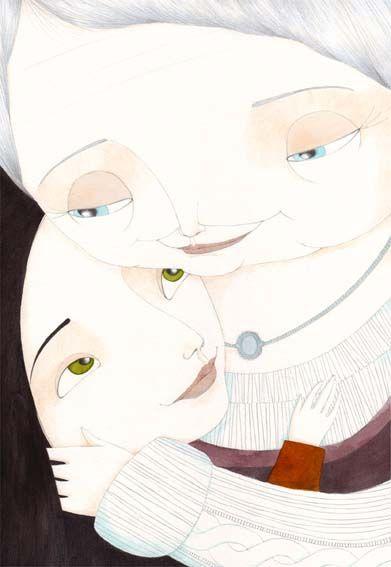 Isabelle Demarly : Portfolio : Illustrations : Le magasin de souvenirs