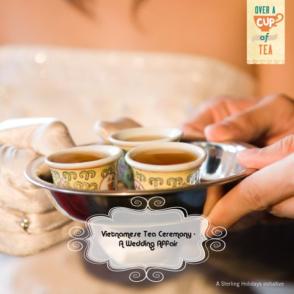 The Vietnamese tea ceremony is generally held during marriages when the families of both the bride and the groom participate in the bonding by drinking green ‪#‎tea‬.Confections are also presented to the guests and the routine is followed by a candle ceremony. ‪#‎teaceremony‬ ‪#‎greentea‬