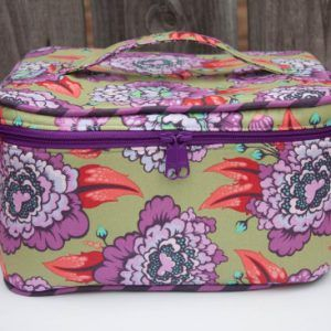 Crimson and Clover Train Cases