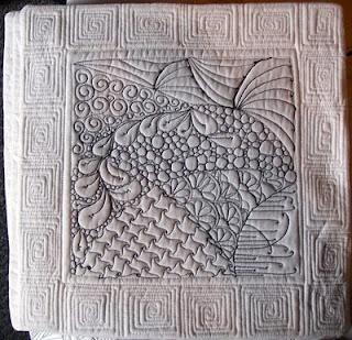 zentangle quiltwork: Quilts Zentangle, Motion Quilts, Quilts Squares, Free Motion, Zentangle Quilts, Art Quilts, Machine Quilts, Quilts Design, Quilts Ideas