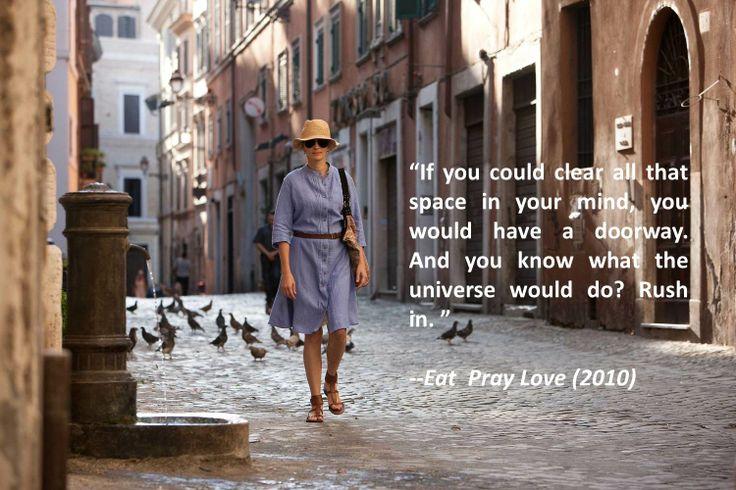 """""""Eat Pray Love"""" (2010)"""