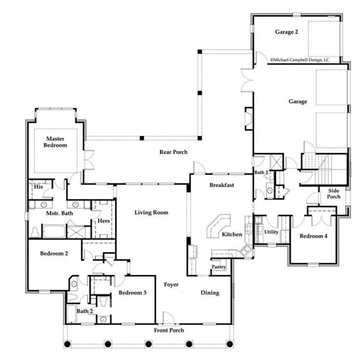 L Shaped Single Storey Homes Interior Design I J C Mobile: 204 Best Images About House Plans On Pinterest