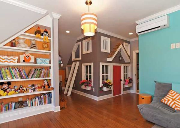 Charmant 20 Stunning Basement Playroom Ideas