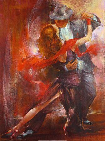Tango Argentino II - Pedro Alvarez Poster :: PicassoMio