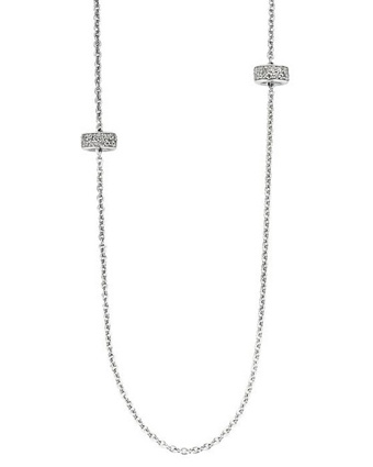 Ti Sento 3791 White Zirconia 31.5 In. Necklace Available at: www.always-forever.com