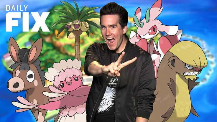 New Pokemon Sun and Moon Trailer Revealed - IGN Daily Fix The Pokemon Sun and Moon trailer reveals new Pokemon and Alola forms Niantic hopes Sponsorships will ease the pressure of micro-transactions and details on the new Xbox system update. August 01 2016 at 09:15PM  https://www.youtube.com/user/ScottDogGaming