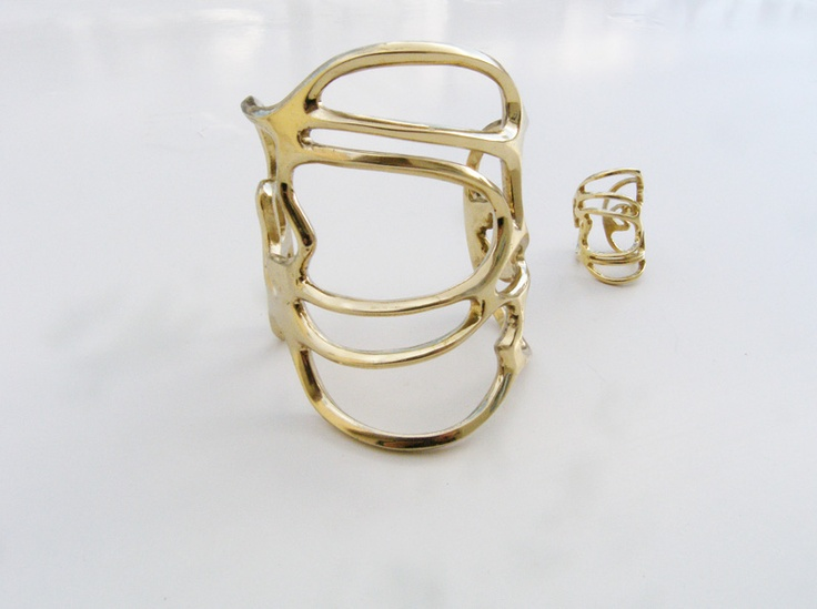 b-tal jewellery line three collection ring & bracelet is now available at http://www.b-tal.com/