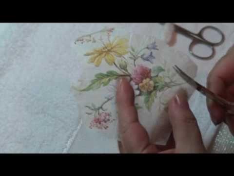 Lu Heringer - Decoupage em sabonete- Parte 2