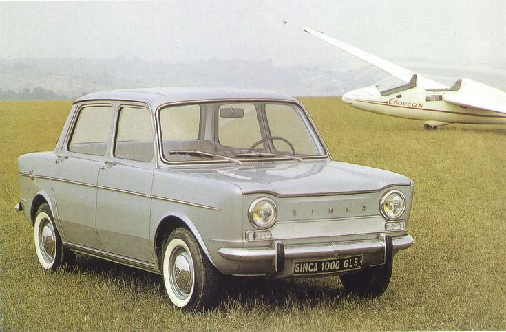 Simca 1000 - OMG, this was our car while living in Italy!