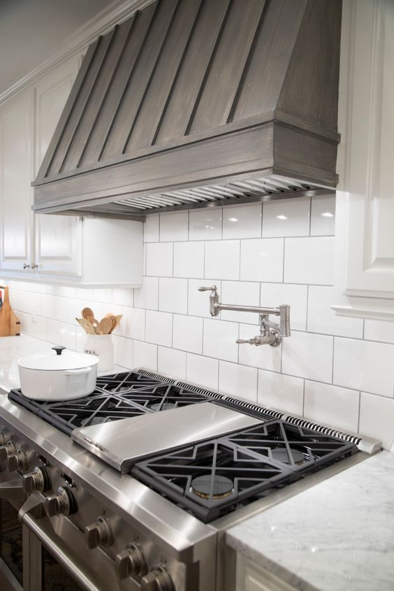 Covered Range Hood Ideas: Kitchen Inspiration Part 49