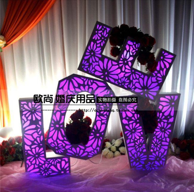 Новые добро пожаловать области свадебной церемонии реквизит поставляет IPL резные любовные декоративные обстановка справочный макет реквизит ...