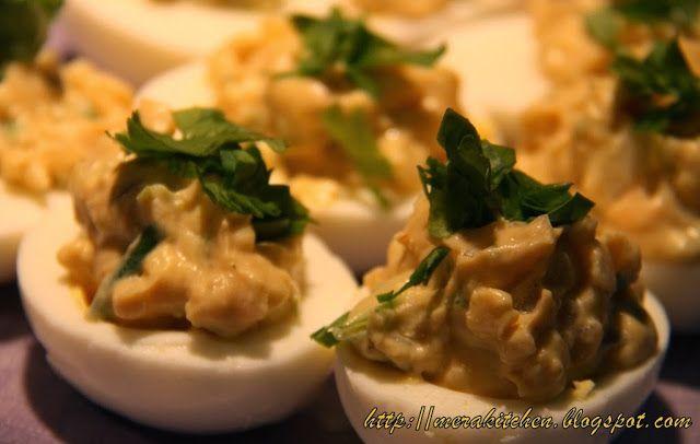 ... Eggs (Wasabi flavored) | mera kitchen | Pinterest | Deviled Eggs, Eggs