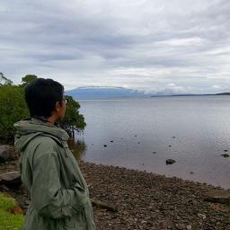 Look! It's Mt Tambora-Sumbawa, Indonesia