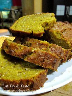 Cake Labu Kuning (Pumpkin Bread)   Just Try & Taste
