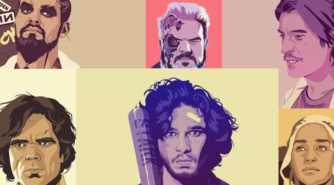 Χαρακτήρες του GoT σε στυλ '80s και '90s [Photos] - #GameOfThrones, #MikeWrobel #Art, #Entertainment, #Funny, #Illustration, #Photos More: http://on.hqm.gr/89