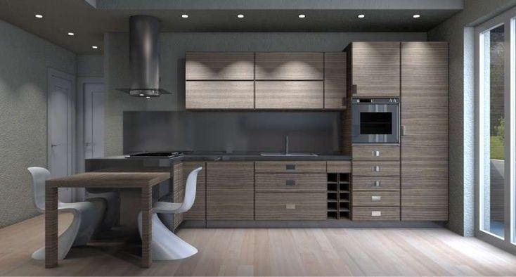 Illuminare la cucina consigli suggerimenti luce ottimale lampade faretti cucina con isola zona cottura piano lavoro illuminazione sottopensili.