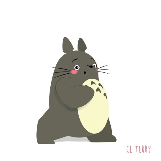 Day 95. Totoro is at it again with the booty building.