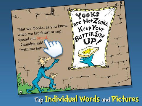 The Butter Battle Book - Dr. Seuss for iPad - Digital Storytime's ...