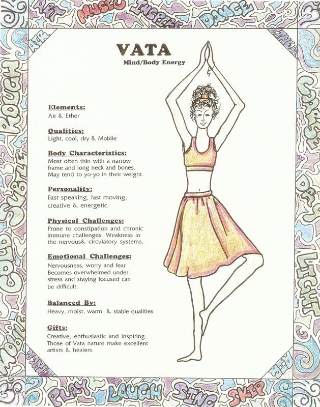 five elements of ayurveda | Vata