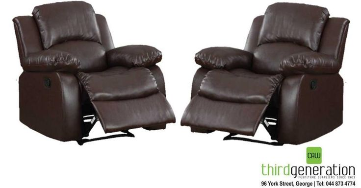 Awesome special at #ThirdGenerationCAW! Get two of these leather recliners for the price of one - only R12 995. Price valid until 28 July 2016, or while stocks last. T's & C's apply, E&OE
