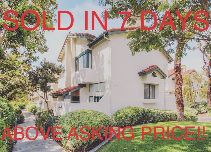 Received an offer above asking price in 7 days! Ask me how