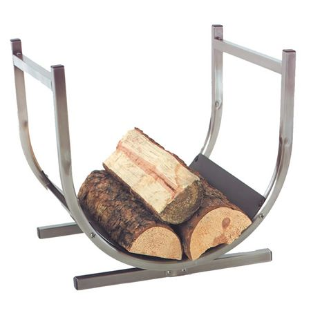 Just Purchased This Modern Log Holder For Our Fireplace In