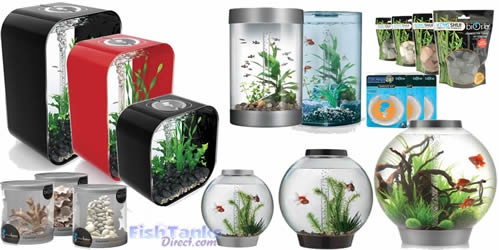 Acrylic Aquariums & Acrylic Fish Tanks by Fish Tanks Direct - BiOrb Fish Tanks