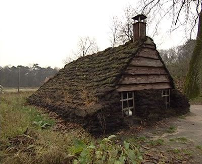 Turf house Drenthe, The Netherlands