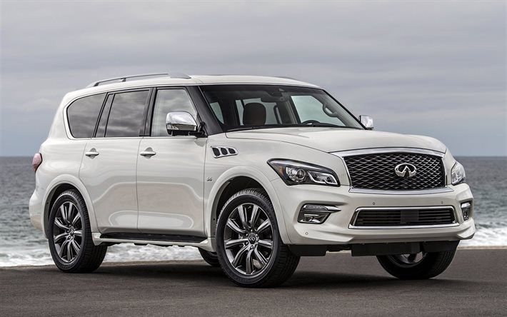 Infiniti Qx80 Signature Edition 2017 Cars Suvs Luxury White Luxurystylelife