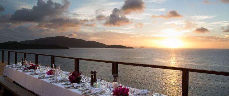 Luxury Holiday Ideas Necker Island Resort Wedding Reception