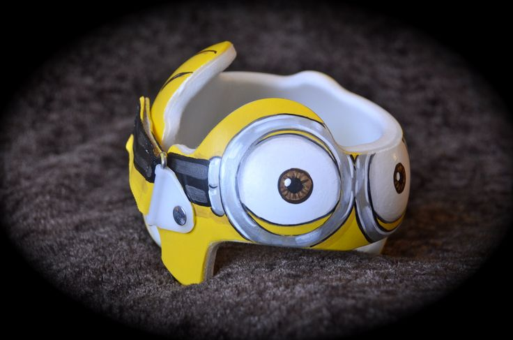 Minion Cranial Band DOC Band https://www.facebook.com/pages/Cranial-BandsMurals-by-Leigh-Gibson/153150921414230