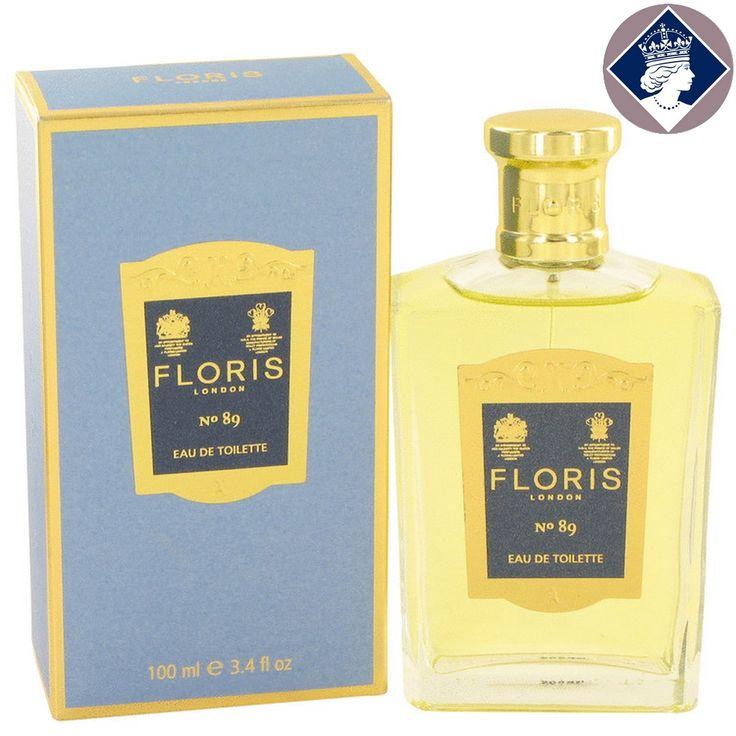 Floris No.89 for Men 100ml/3.4oz Eau De Toilette Spray EDT Cologne Fragrance