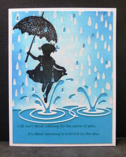 **IC502 Dancing in the Rain by hobbydujour - Cards and Paper Crafts at Splitcoaststampers