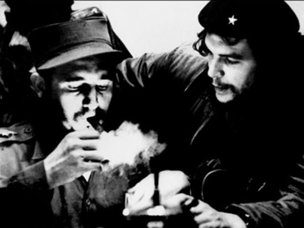 """Fidel Castro and Che Guevara. Castro was the leader of the communist revolution in Cuba, has died at the age of 90. Here are some of his more memorable quotes about himself and communism in Cuba: * """"Condemn me. It is of no importance. History will absolve me."""" -- Castro in 1953, then a young lawyer defending himself at trial for his near-suicidal assault on the Moncada military barracks in Santiago de Cuba."""