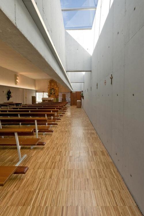 Unquera Parish Church,Cantabria,Spain by Fernandez-Abascal y Muruzabal with Ortiz y Barriento.