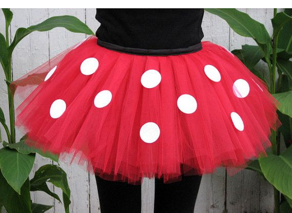 Miss Mouse Running Tutu on Etsy, $26.00