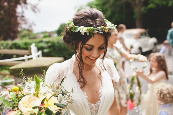 Coral Peonies, Pin Wheels, Floral Crowns and Rustic Romance   Love My Dress® UK Wedding Blog