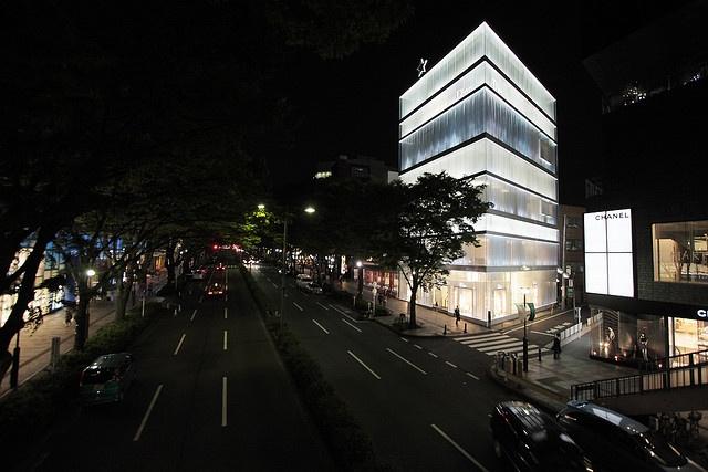 Christian Dior Building  Architects: Sejima + Nishizawa and Associates (SANAA)