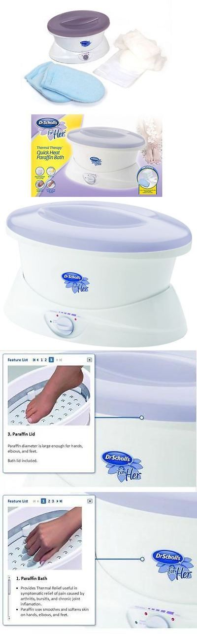 Spas Baths and Supplies: Paraffin Wax Bath Quick Heat Thermal Mitts Hand Feet Therapy Spa Machine -> BUY IT NOW ONLY: $45.78 on eBay!