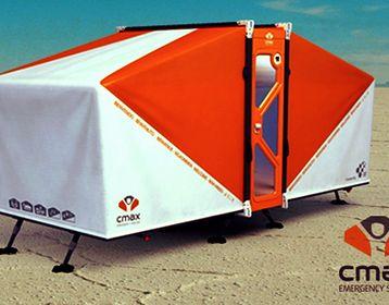 C-max System: solución habitacional de emergencia para catástrofes. Diseño argentino. http://mascarondeproa.wixsite.com/mascaron/desarrollo