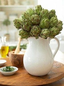 Italian artichokes #kiehl's #aromaticblends