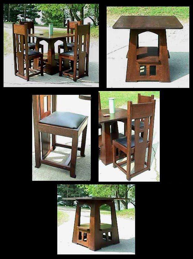 Limbert   Arts And Crafts   Dining   Pagoda   Table   Mission   Oak    English   Mission Guild Studio | Pinterest | Studio, Roycroft And Craftsman