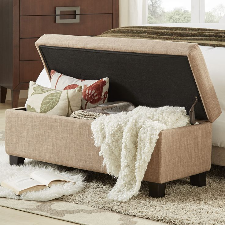 1000 Ideas About Bedroom Benches On Pinterest: 1000+ Ideas About Upholstered Storage Bench On Pinterest