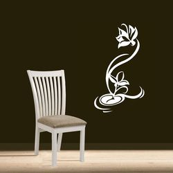 lotus decals Silhouette Design.in Adorn your wall with Silhouette Design and see the change in your decor. The most easy way to enhance your space.   mail us at:- info.silhouettedesign@gmail.com